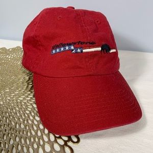 Yellowstone National Park Red Buffalo Dad Hat OS